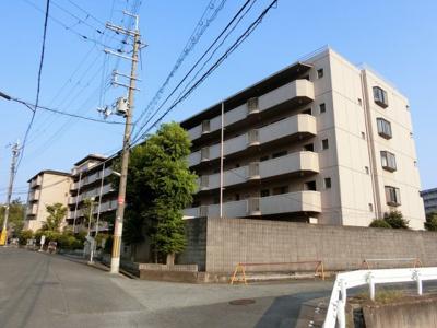 【現地写真】 総戸数46戸の分譲マンションです♪