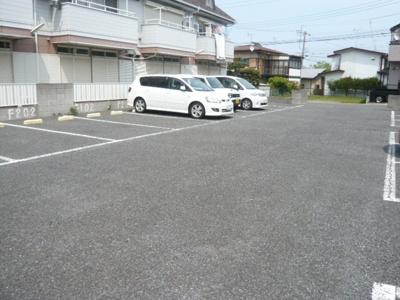 【駐車場】ハイツパークサイドF棟