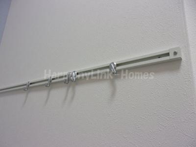 パークサイドレジデンス北新宿の廊下☆