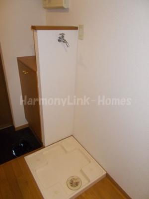 ロイヤルパレス中野坂上の室内洗濯機置き場