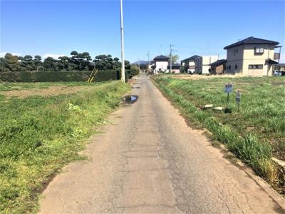 【前面道路含む現地写真】つくば市西高野