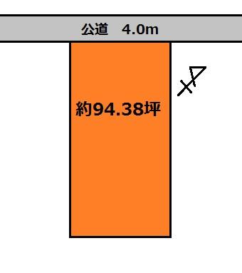 【土地図】大洗町五反田土地
