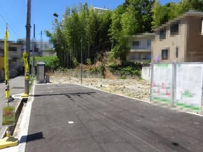 【前面道路含む現地写真】神戸市垂水区千鳥が丘1丁目 2号棟 新築戸建