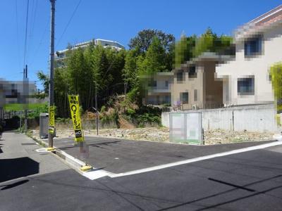 【前面道路含む現地写真】神戸市垂水区千鳥が丘1丁目 1号棟 新築戸建