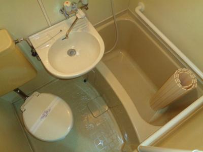 【浴室】JPアパートメント東住吉Ⅳ