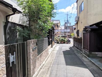 【前面道路含む現地写真】京都市左京区聖護院西町