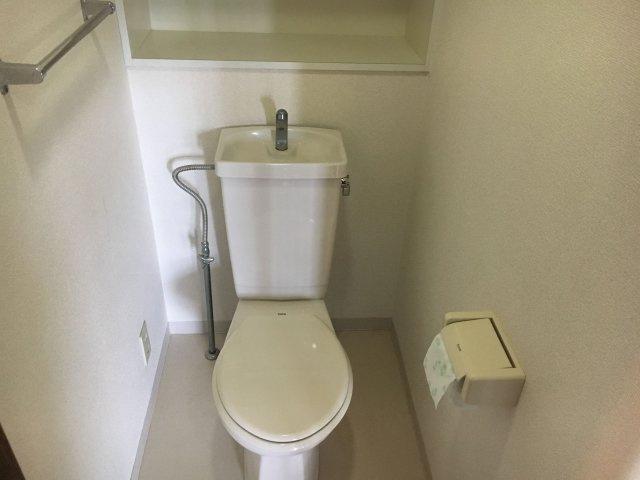 【トイレ】コアマンションマリナガーデン