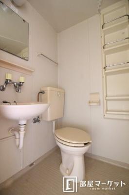 【トイレ】城前ハイツB