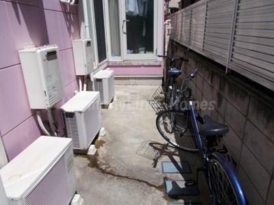 フェリスビオラの駐輪スペース