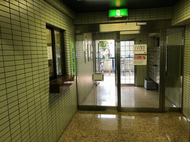 【ロビー】モナークマンション西川口