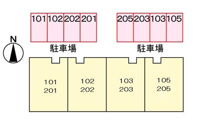 【区画図】イシイハイツ