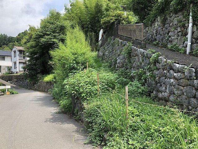 【前面道路含む現地写真】いの町波川