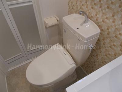 ハーモニー柴又テラスのトイレもきれいです☆