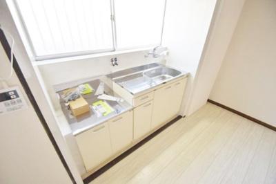 【キッチン】小山2丁目戸建貸家
