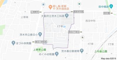 【地図】鮎川5丁目新築貸家