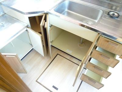 【キッチン】第3ナミキハイツ