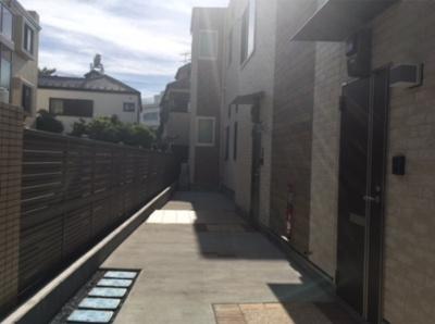 OASIS KOIWAの駐輪スペース