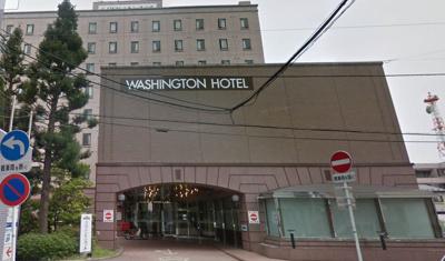 【外観】HOTEL GLOBAL VIEW(旧称:ワシントンホテル八戸)