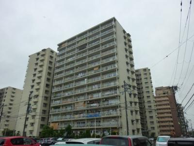【外観】八戸ノ里第3ガーデンハイツA棟