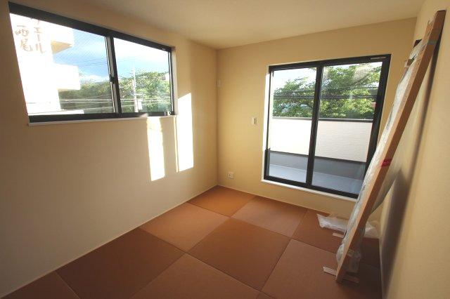 【施工例】実際に建築したお家の和室になります。 フリープランで洋室を和室に変えることも可能です♪