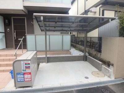 屋根付き駐輪場、敷地内ゴミ置き場有ります!