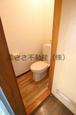【トイレ】山越コーポ