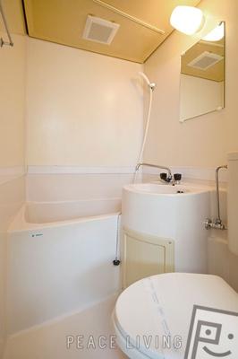 【浴室】ラーニングハイツI