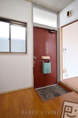 【玄関】ラーニングハイツI