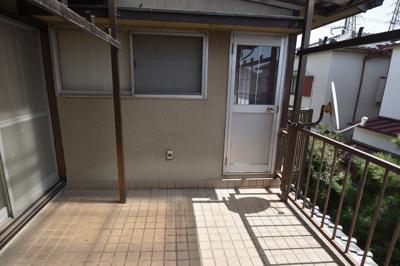 【バルコニー】西冠1丁目貸家 スモッティ―阪急高槻店