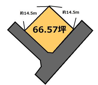 【土地図】納場 170万円