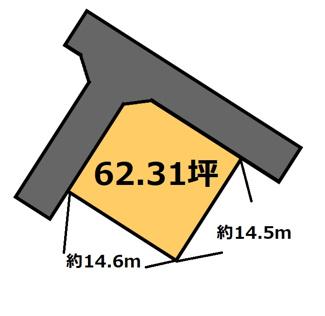 【土地図】真家 125万円