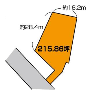 【土地図】若松 1,570万円