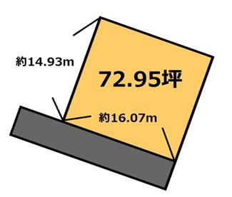 【土地図】北府中 365万円