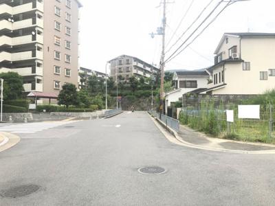 【前面道路含む現地写真】京都市伏見区醍醐高畑町
