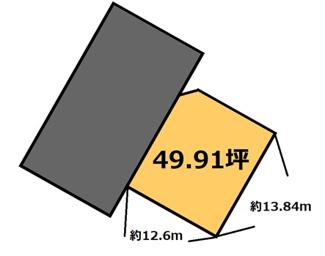 【土地図】旭台 650万円