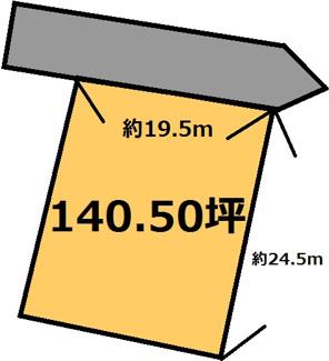 【土地図】羽刈 750万円