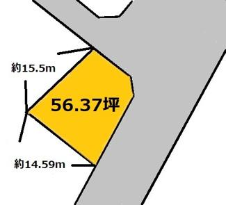 【土地図】納場 300万円
