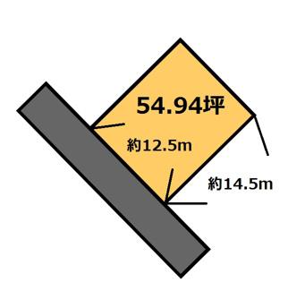 【土地図】納場 140万円