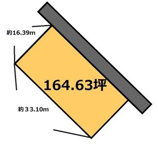 【土地図】羽刈 500万円