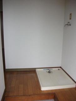 洗濯置き場・玄関