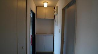 【玄関】リバーサイドハイツA棟