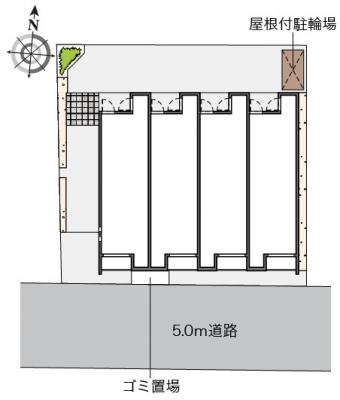 【区画図】クレイノレガーロ