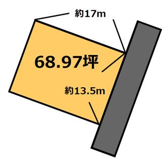 【土地図】山崎 100万円