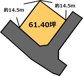 【土地図】東成井 150万円