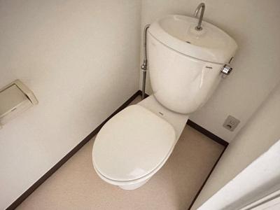 【トイレ】ウェルサイド緑園Ⅲ