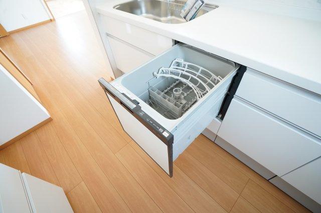 嬉しい食洗機付です。家事の時短になりますよ。