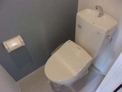 イオ椎名町の清潔感のあるトイレです