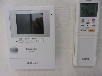 イオ椎名町のTV付インターホン☆