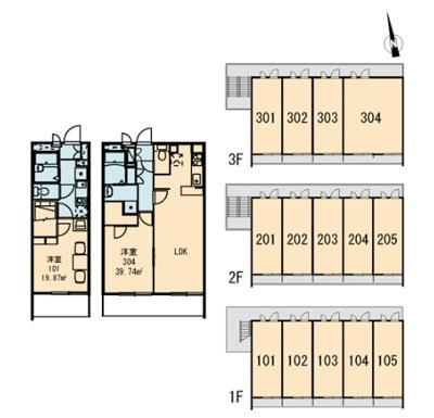 【地図】SⅢ