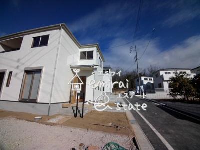 1月13日撮影 前面道路含む現地写真